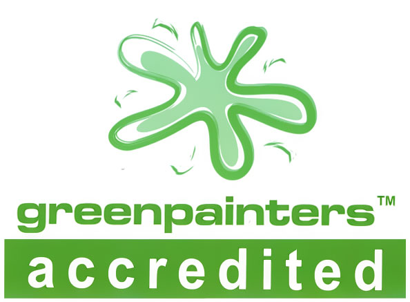 accredited green painter logo