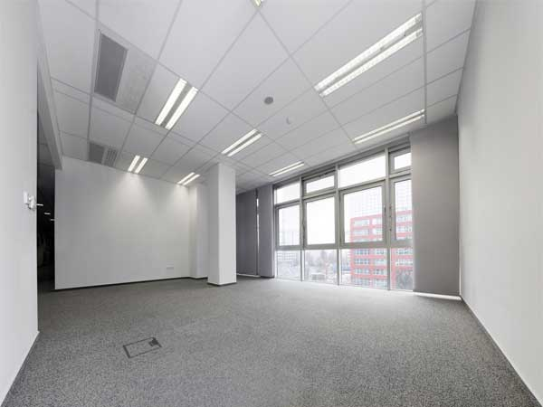 gallery office building interior painting